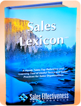 book publishing,Sales Lexicon  book image