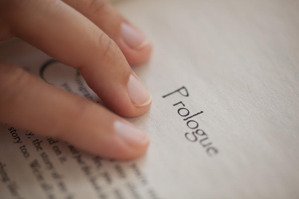 Front matter book manuscript format