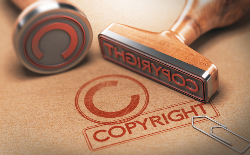Copyright symbol for self-publishing a book