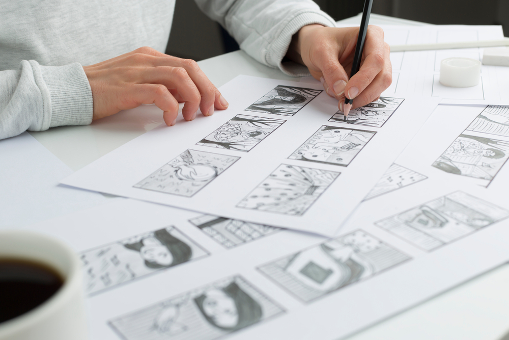 Storyboarding for self-publishing a book