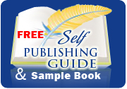 self publishing guide and sample book image