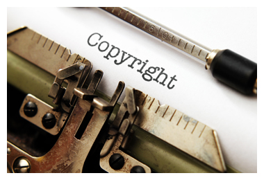 Copyright for printing a book